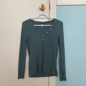 Lucky Brand Long Sleeve With Buttons